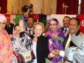 IU propone al Pleno que el pueblo de Totana se solidarice con la defensora de los derechos de los saharauis, Aminatou Haidar