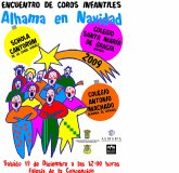 Encuentro de coros infantiles navideños 2009