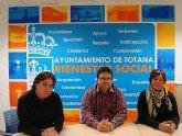 Los representantes de INCODECO y Acci�n sin Fronteras visitan la localidad