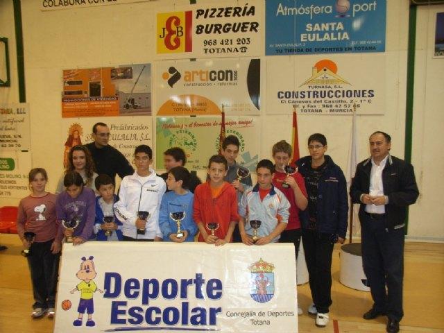 Un total de 90 escolares participan en el Torneo Escolar de Tenis de Mesa, Foto 2