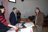 Rafa Martínez promete la Constitución en su toma de posesión como nuevo concejal del Grupo Socialista