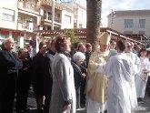 El Obispo José Manuel Lorca Planes preside la misa del día grande de las fiestas patronales en San Javier y bendice la calle dedicada a Antonio López