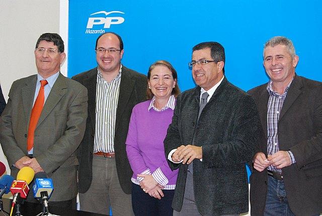 Los alcaldes y portavoces del PP del Guadalent�n a�nan sus fuerzas, Foto 2