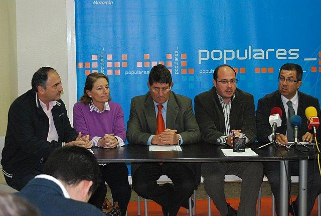 Los alcaldes y portavoces del PP del Guadalent�n a�nan sus fuerzas, Foto 3