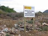 La CHS investiga el vertido de escombros en la rambla unionense del Descargador