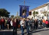 La Purísima recorre La Estación de Puerto Lumbreras acompañada por la Cuadrilla del Esparragal y cientos de vecinos