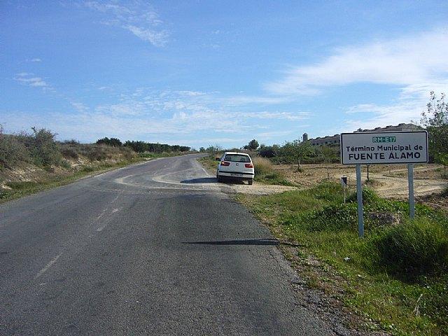 Obras P�blicas mejora las condiciones de la carretera que comunica Tallante con la autov�a Totana-Mazarr�n, Foto 1