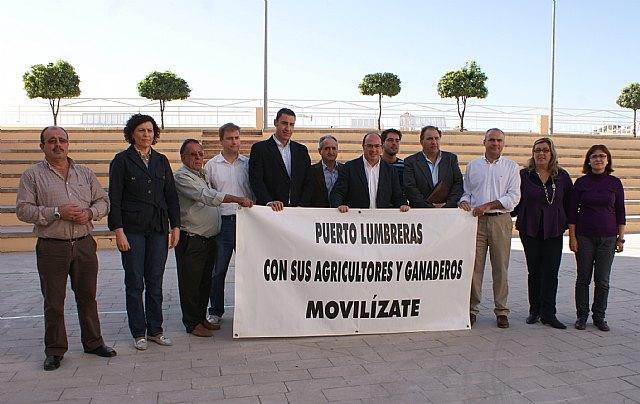 El Ayuntamiento de Puerto Lumbreras contra la subida de las tarifas del Tajo- Segura para agricultores - 1, Foto 1
