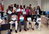 Concluye el curso de informática básica e Internet para inmigrantes en Las Torres de Cotillas