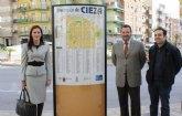 Universidades, Empresa e Investigación  colabora con 11.500 euros en la mejora de la imagen del entorno comercial de Cieza