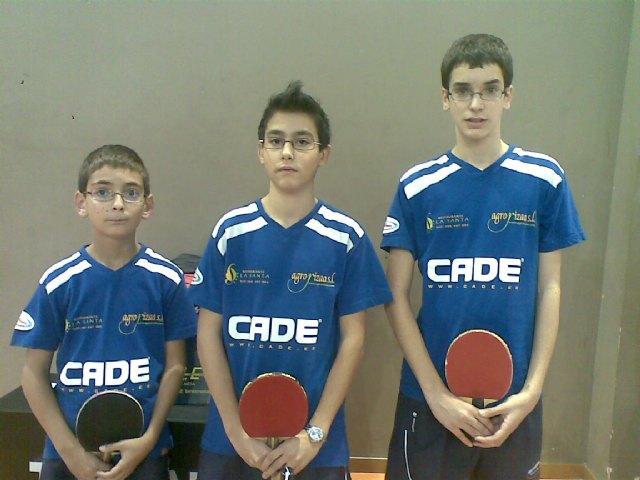Tenis de mesa. Torneo zonal en La Zubia, Foto 2