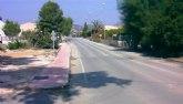 El Ejecutivo regional refuerza la seguridad en la carretera que comunica la pedanía ilorcitana de Los Palacios con Archena