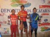 Jos� �ngel Camacho confirma su excelente estado de forma y sube como tercero al podium en la carrera de Los Narejos