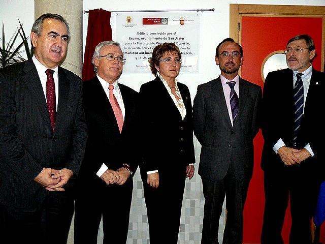 La alcaldesa destaca el impulso de la Facultad de Ciencias del Deporte en la apuesta municipal por el deporte - 2, Foto 2