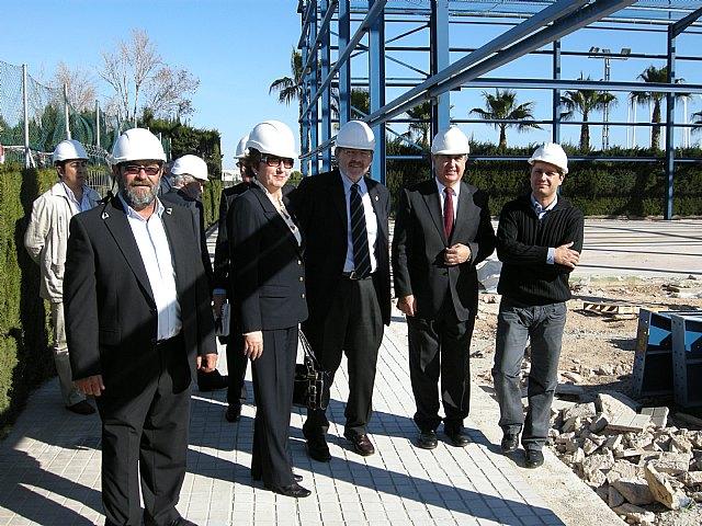 Jaime Lissavetzky inaugura las mejoras de las instalaciones deportivas de San Javier - 1, Foto 1