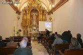 El profesor de historia de la UMU, Pedro Segado, ofreció una conferencia sobre Jerónimo Caballero