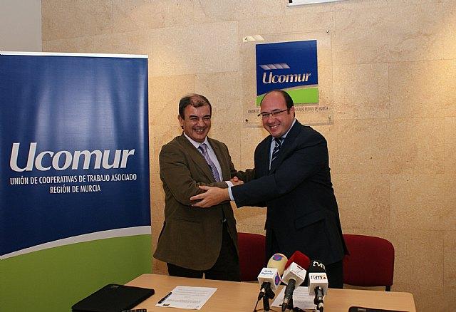 El Ayuntamiento y UCOMUR se unen para potenciar el autoempleo en Puerto Lumbreras - 1, Foto 1