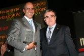 Juan Pedro Florido, director de operaciones de ELPOZO ALIMENTACI�N, galardonado como mejor analista de precios ganadero del año por la lonja agropecuaria de Mercolleida