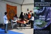 La plaza de Adolfo Suárez acogió las actividades con motivo del Día Internacional del Migrante