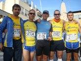 Continua la intensa actividad de carreras de los atletas del Club Atletismo Totana