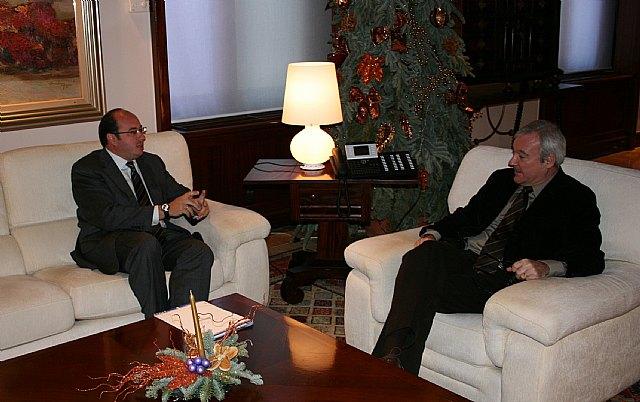 El Alcalde plantea al Presidente Valcárcel nuevos proyectos de dinamización económica y empresarial para Puerto Lumbreras - 2, Foto 2
