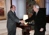 El Alcalde plantea al Presidente Valcárcel nuevos proyectos de dinamización económica y empresarial para Puerto Lumbreras