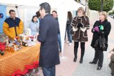 Inauguración del stand PROMETEO en Torre-Pacheco