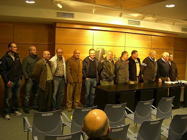 Isidoro Cayuela reelegido por unanimidad presidente de la Uni�n de Agricultores del Bajo Guadalentin (COAG), Foto 1