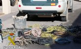 La Guardia Civil detiene a una persona in fraganti por la sustracción de cableado eléctrico