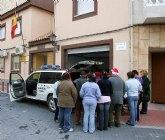 El Centro Ocupacional de Discapacitados de Fortuna visita las instalaciones de la Guardia Civil