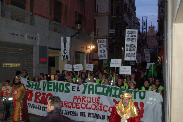 Manifestación: Salvemos el yacimiento: ¡¡BIC y parque arqueológico ya!! - 1, Foto 1