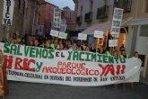 Mil personas se manifestaron por un BIC para el yacimiento de San Esteban