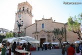 La Plaza la Constitución ha acogido el mercado artesano que cada mes se celebra en La Santa