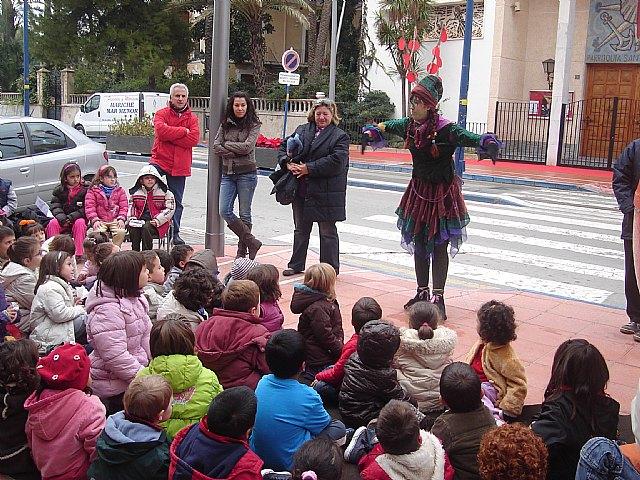 Los niños inauguran Riberaland, la tierra de la Navidad, en Santiago de la Ribera - 1, Foto 1