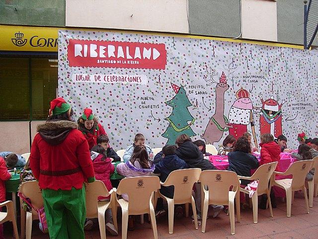 Los niños inauguran Riberaland, la tierra de la Navidad, en Santiago de la Ribera - 2, Foto 2