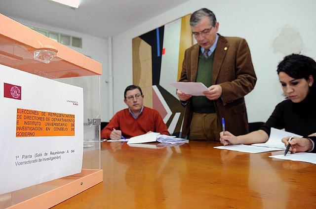 Elegidos los representantes de los directores de Departamento en el Consejo de Gobierno - 1, Foto 1