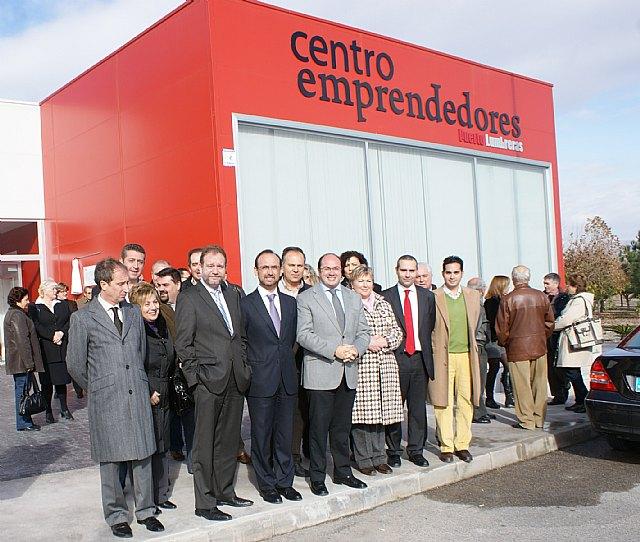 La Comunidad y el Ayuntamiento de Puerto Lumbreras ponen en marcha un vivero de empresas - 1, Foto 1