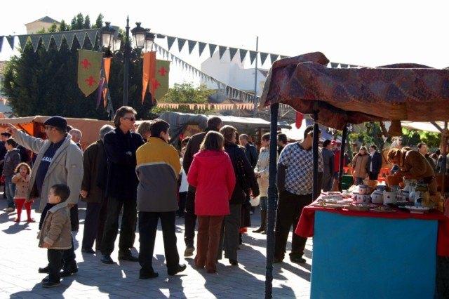 Alguazas celebra su primer Mercadillo Medieval - 1, Foto 1