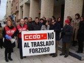 CCOO: 'Éxito de la concentración de los funcionarios y funcionarias de la administración de Justicia destinados en Molina de Segura'