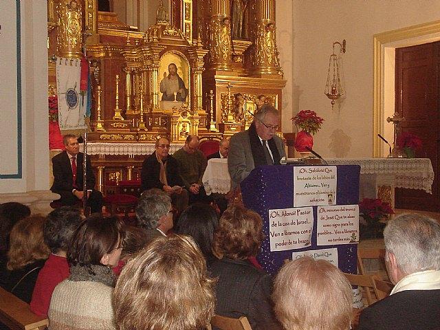 Manuel Fernández-Delgado alude sus creencias religiosas y recuerdos  para pregonar la navidad en San Javier - 1, Foto 1