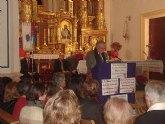 Manuel Fernández-Delgado alude sus creencias religiosas y recuerdos  para pregonar la navidad en San Javier