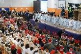 Los alumnos de los colegios de Puerto Lumbreras empiezan las vacaciones estivales con una fiesta navideña