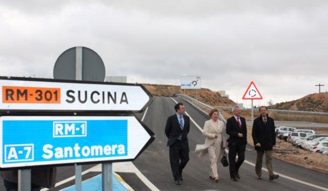 """El Alcalde califica la autovía que une Zeneta y el Mar Menor como una """"infraestructura estratégica"""" para el futuro de las pedanías del Este y del Campo de Murcia - 1, Foto 1"""