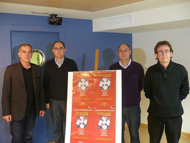 El Auditorio de Murcia celebra la Navidad con un concierto del cuarteto Saravasti - 1, Foto 1