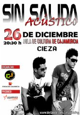 Concierto de Sin Salida en Cieza el próximo sábado 26 de diciembre de 2009