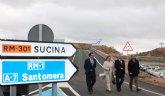 """El Alcalde califica la autovía que une Zeneta y el Mar Menor como una """"infraestructura estratégica"""" para el futuro de las pedanías del Este y del Campo de Murcia"""
