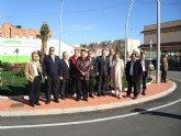 El delegado del Gobierno y la alcaldesa de San Javier inauguran cinco obras del Fondo Estatal de Inversión Local