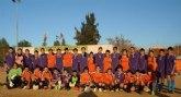 El Club de Fútbol Nueva Cartagena celebra con éxito la Navidad
