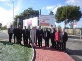 El delegado del Gobierno y la Alcaldesa inauguran cinco obras del Plan E en San Javier