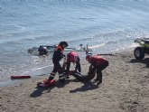 El servicio de vigilancia en playas cierra el año con 3.580 intervenciones